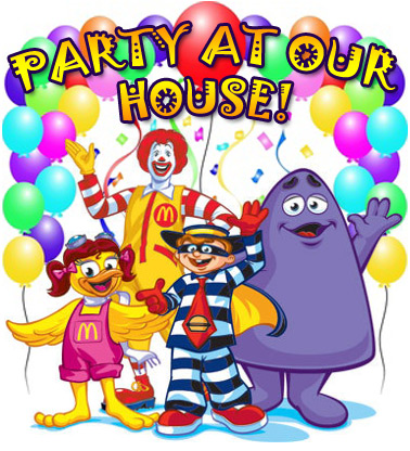 Party At Our House!